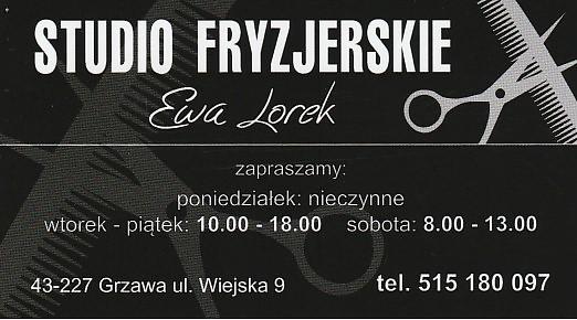 salon fryzjerski Ewa Lorek Grzawa